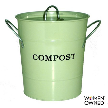(Exaco 2-in-1 Kitchen Compost Bucket with Lid)
