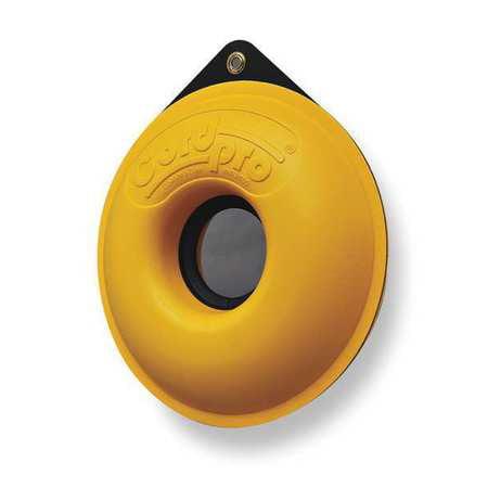 Cable Organizer,12 5/8 Dia,Yellow CORDPRO CP-100