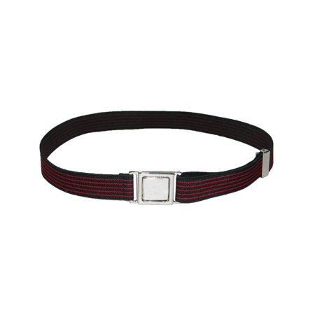 Size one size Kid's Easy Buckle Stripes Adjustable Stretch Belt