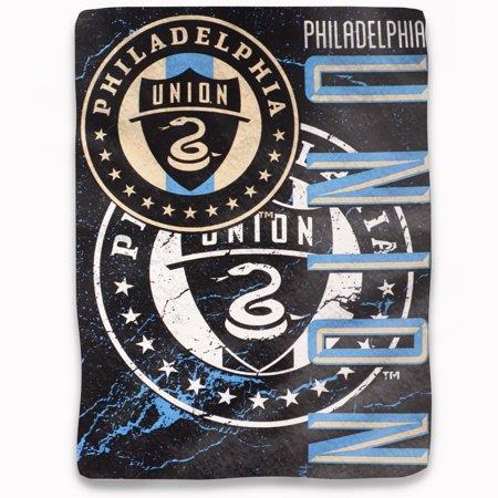 "Philadelphia Union The Northwest Company 46"" x 60"" Concrete Raschel Throw Blanket - No Size"