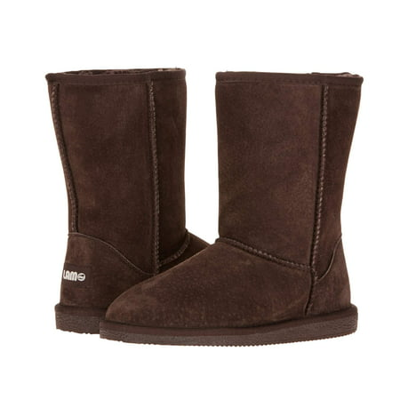 Lamo Sheepskin P909W-CHC-10 Womens Classic 9 in. Boot, Chocolate - Size (Button Womens Sheepskin Boots)