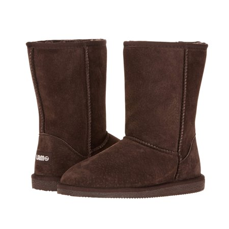 Lamo Sheepskin P909W-CHC-10 Womens Classic 9 in. Boot, Chocolate - Size 10