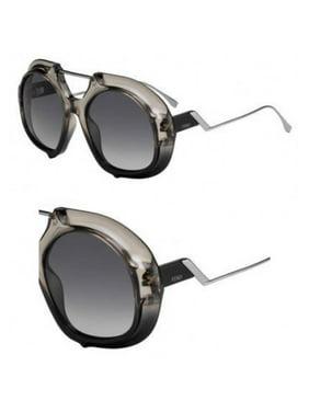 20b11d1d780c Product Image Sunglasses Fendi Ff 316  S 0MNG Crystal Black   9O dark gray  gradient lens