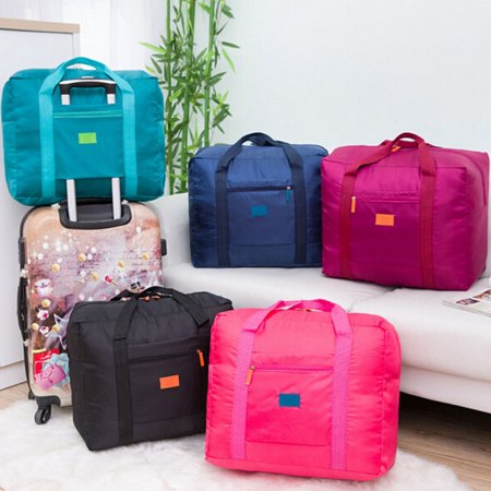 Big Size Foldable Luggage Bag Clothes Storage Carry-On Duffle Handbag for Sports Outdoor Travel