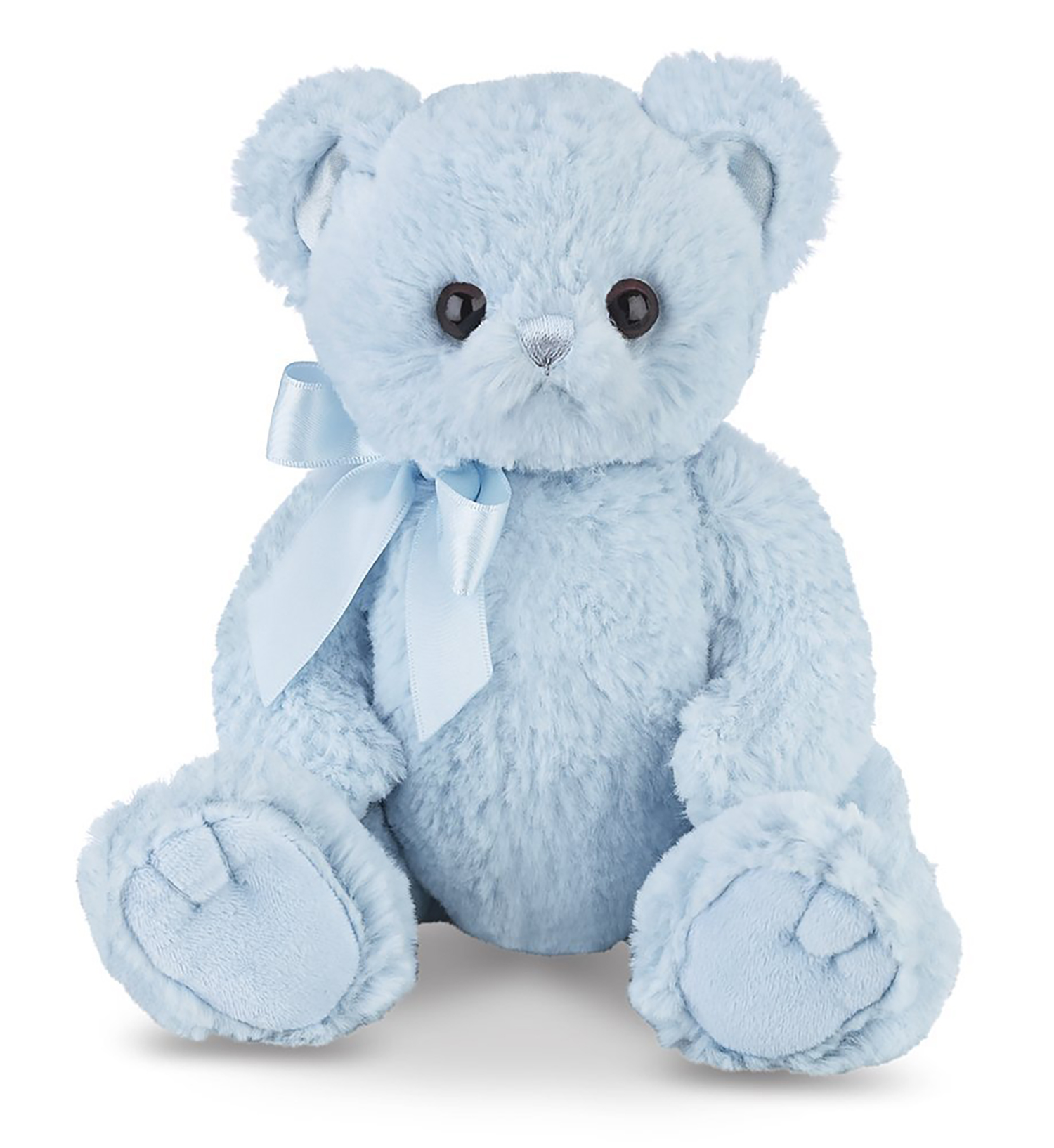 "Bearington Baby Lil Huggie Teddy Bear (Blue) 8"" by Bearington"