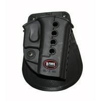 Fobus Evolution Paddle Holster (Right Hand) Fits Glock 17 19 22 23 31 32 34 35 - GL2E2