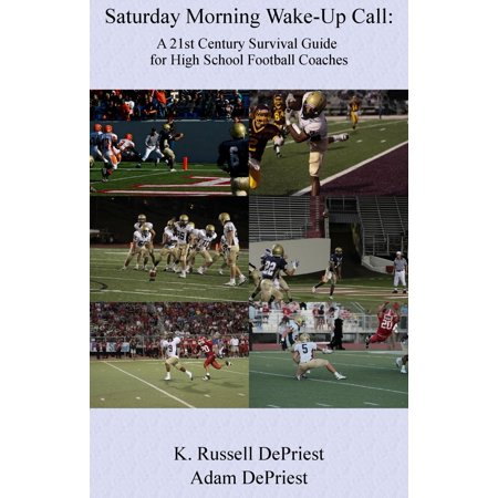 Football Coach Headsets Halloween (Saturday Morning Wake-Up Call: A 21st Century Survival Guide for High School Football Coaches -)