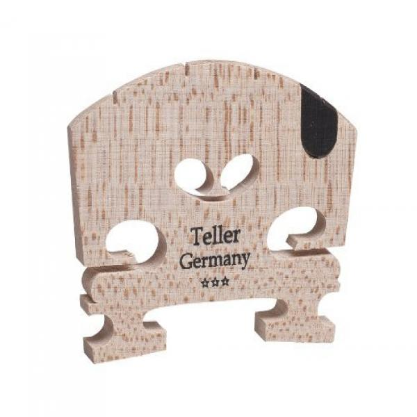 Aubert 9145-44 Teller Germany U Insert Semi Fitted Violin Bridge by