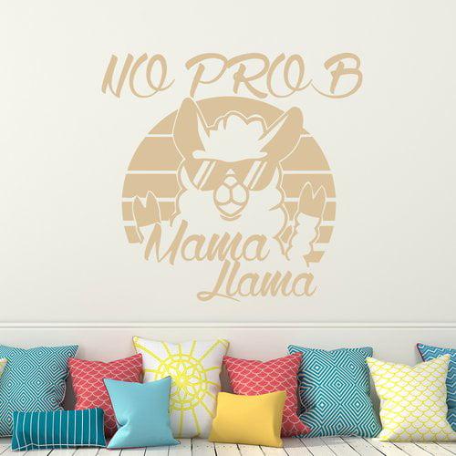 Harriet Bee No Prob Mama Llama Wall Decal