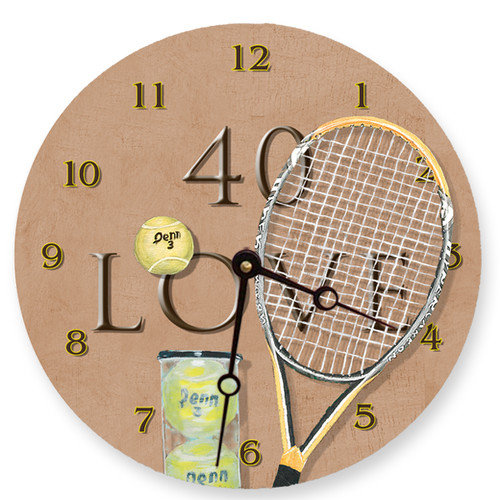 Lexington Studios 40 Love Round Clock