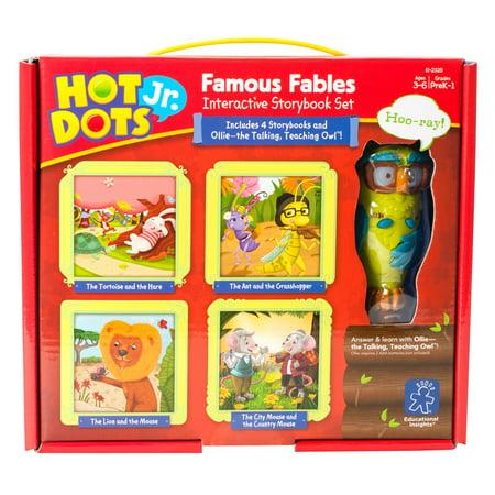 Educational Insights Hot Dots Jr. Famous Fables Books & Pen Set](Hot Dots Pen)