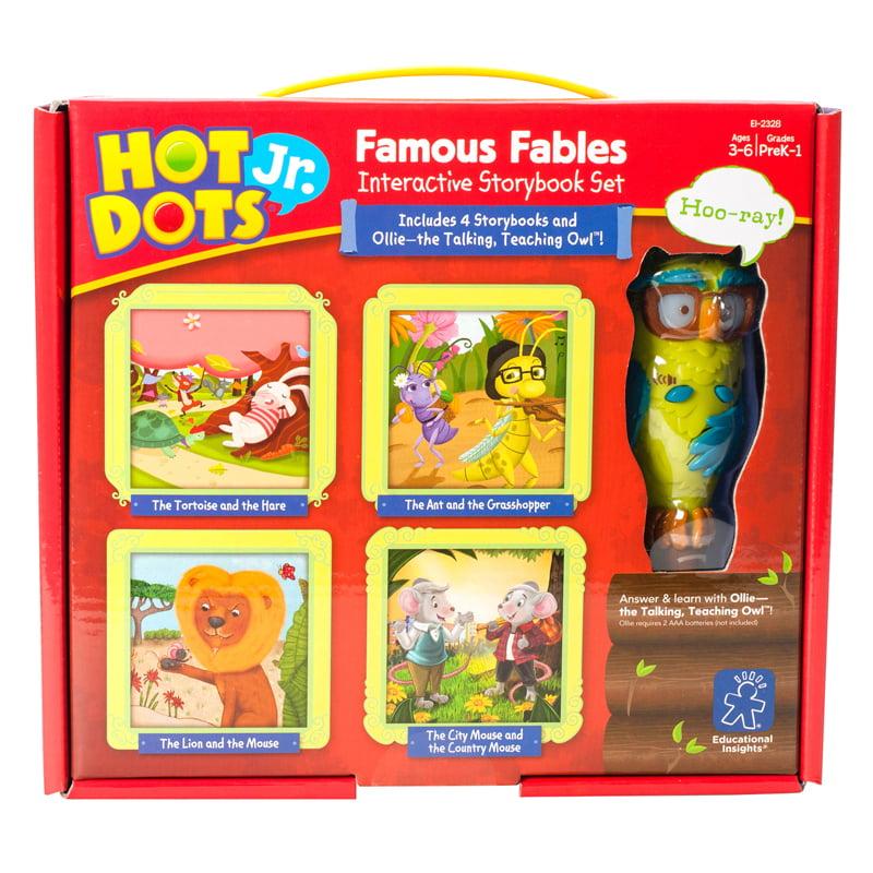 Educational Insights Hot Dots Jr. Famous Fables Books & Pen Set