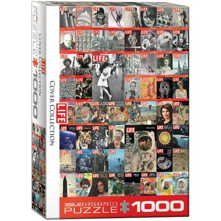 LIFE Magazine Vintage Cover Collage 1000-Piece Puzzle