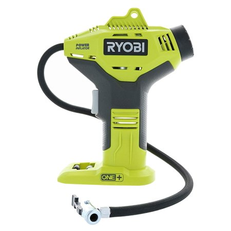 P737 18-Volt ONE+ Portable Cordless Power Inflator for Tires (Battery Not Included, Power Tool Only), ONE+ COMPATIBLE! This tool runs on the power sources used in.., By Ryobi (Ryobi Tools Combo)