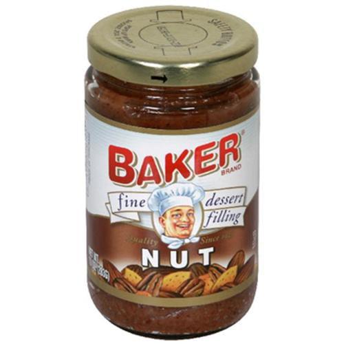 Baker: Nut Dessert Filling, 10 Oz