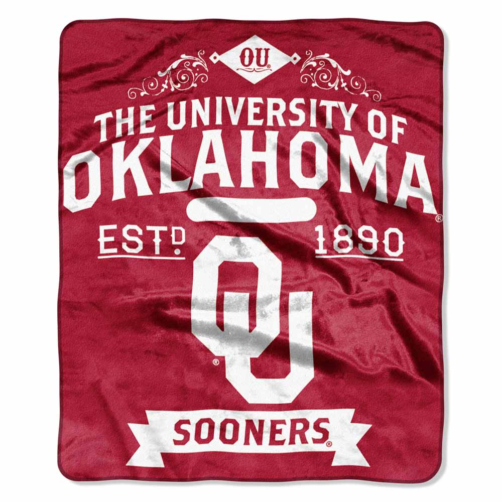 Oklahoma Plush Blanket