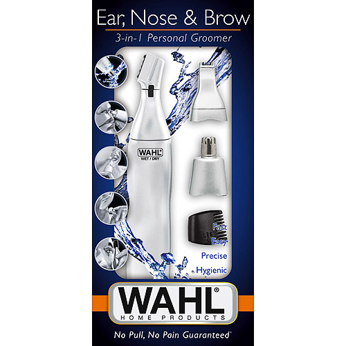 WAHL Ear, Nose & Brow 3-in-1 Personal Trimmer, Model 5545-400