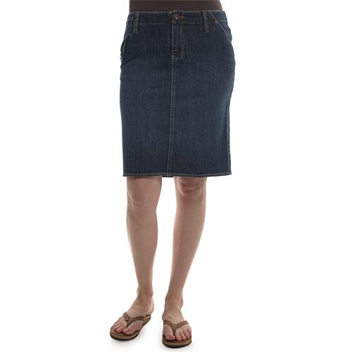 Riders - Women's Copper Collection Folded Pocket Denim Skirt