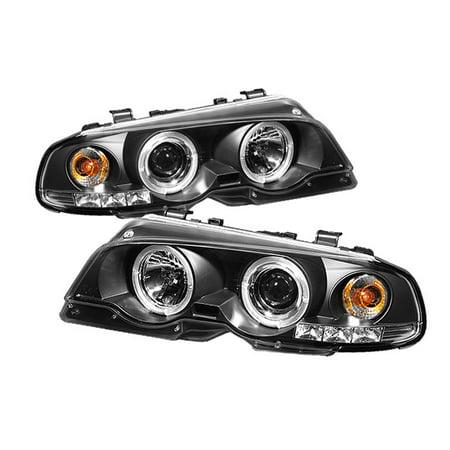 Sonar Halo Projector Headlights (Black) - 99- 01 BMW 328Ci E46 Convertible ()
