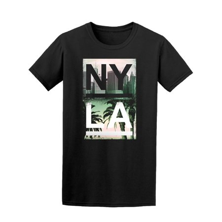 Nyla Palm & Cities Tee Men's -Image by Shutterstock