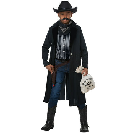 Wild West Sheriff/Outlaw Child Costume - Western Outlaw Costume