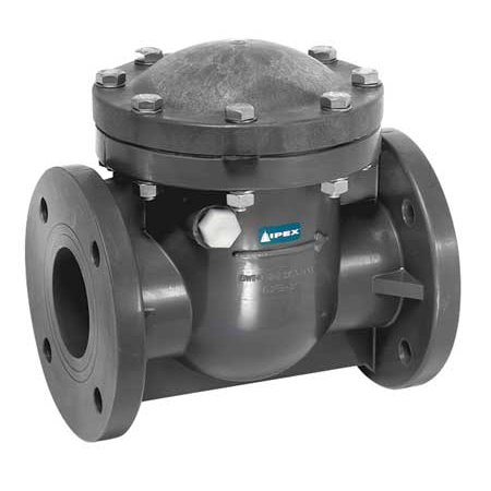 Ipex Usa Llc Scov211 Swing Check Valve  Pvc  4 In   Flanged