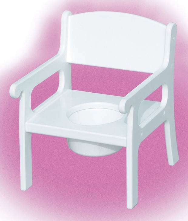 Potty Chair (Unfinished) by Little Colorado