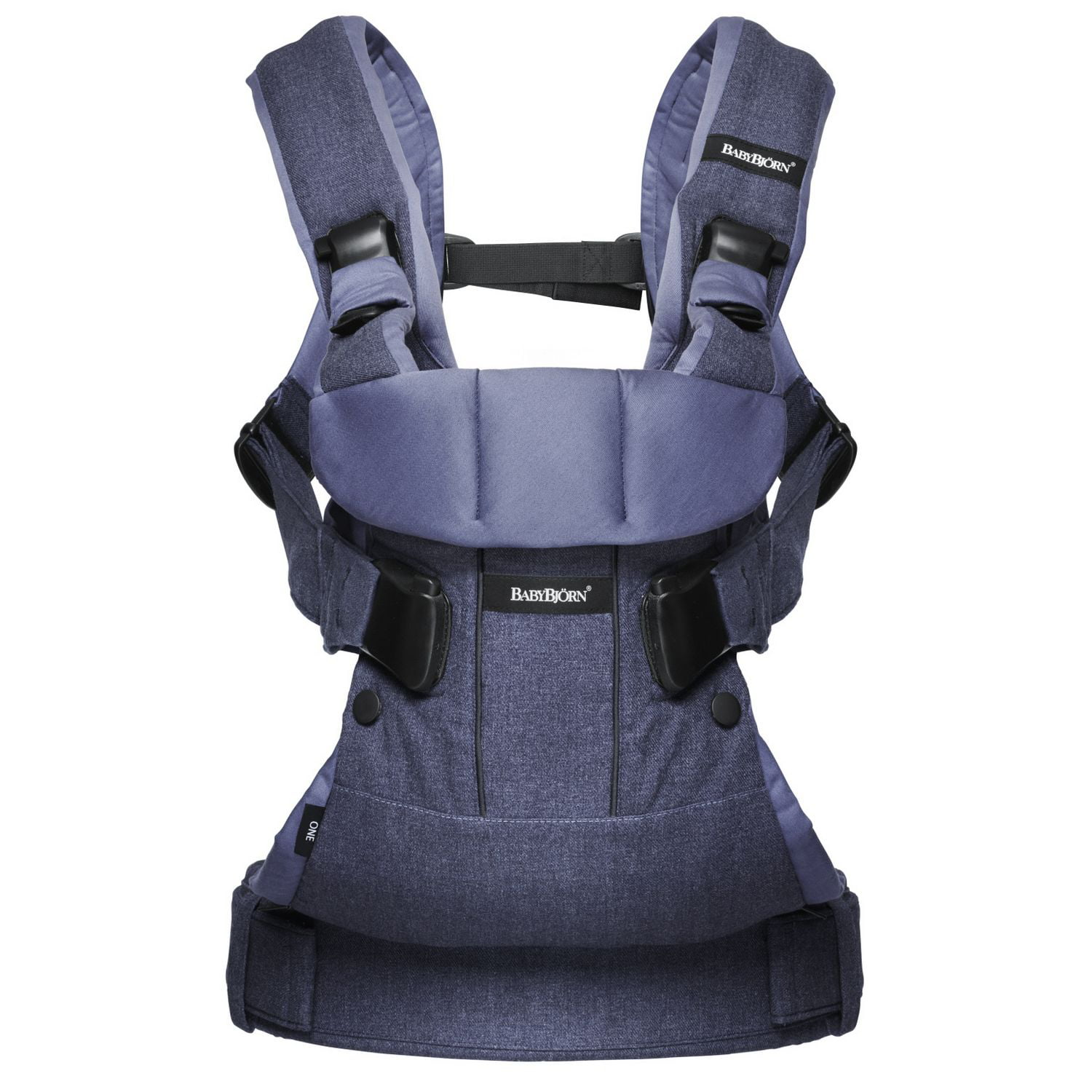 Click here to buy BABYBJORN Baby Carrier One Denim Gray by BabyBj%C3%B6rn.