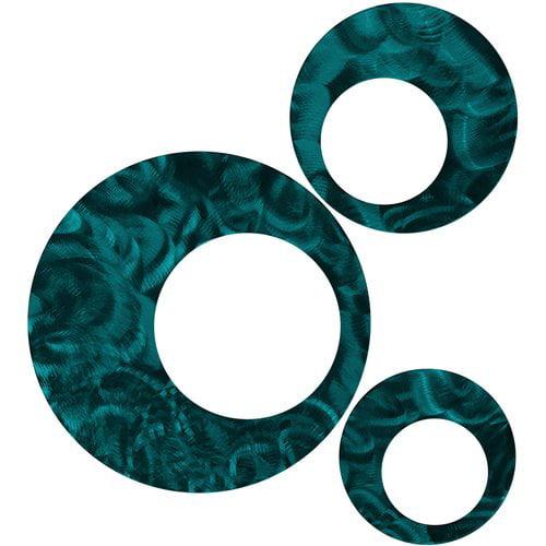 7055 Inc 3 Piece Circles Wall D cor Set