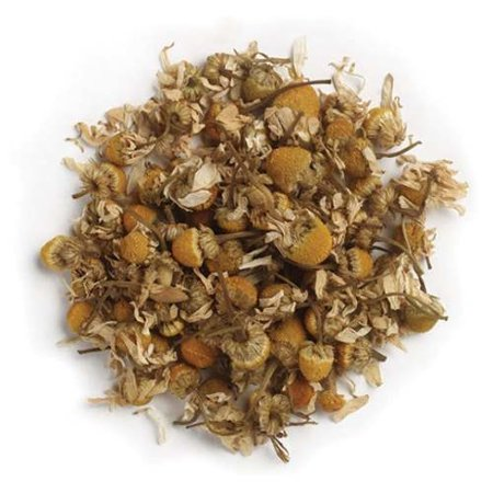 Frontier - German Chamomile Flowers, Whole 1 lb 531 4 PACK (German Chamomile Flowers)