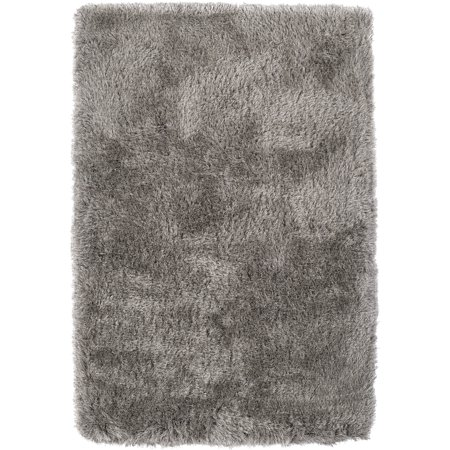 Dalyn Impact Area Rugs - IA100 Contemporary Mushroom Plush Monochrome Fluffy Shag Rug