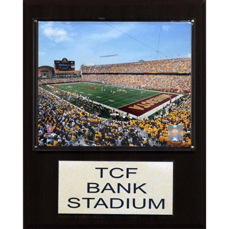 C Collectables Ncaa Football 12X15 Tcf Bank Stadium Stadium Plaque