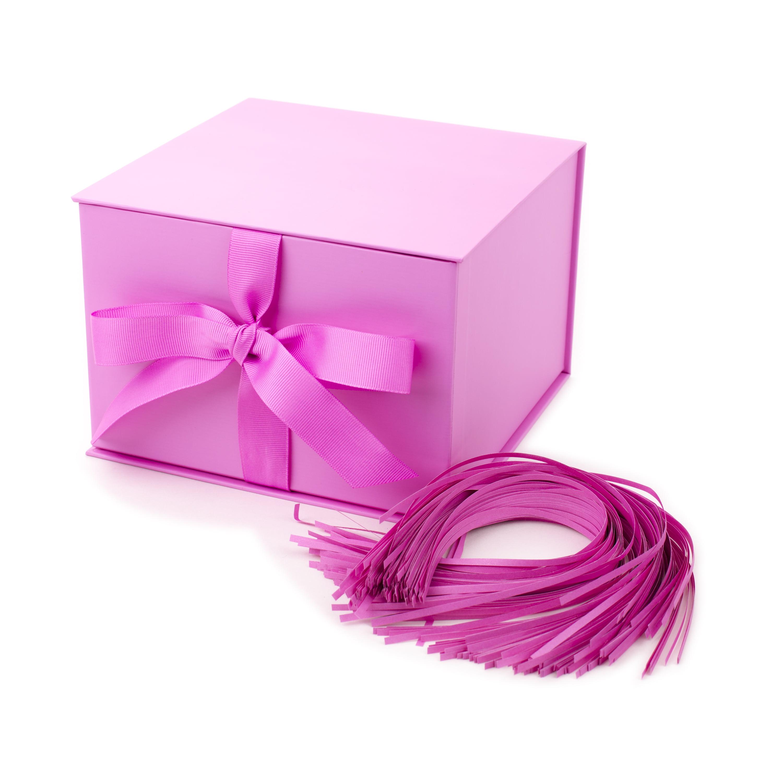 Hallmark Large Solid Color Gift Box (Light Pink)