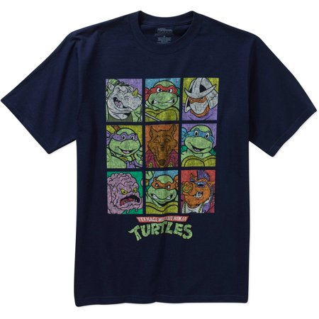 Teenage Mutant Ninja Turtle Men's Character Graphic Short Sleeve T-Shirt for $<!---->