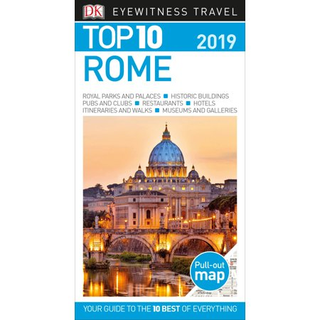 Top 10 Rome : 2019: 9781465471505 (Best Pizza In Rome 2019)