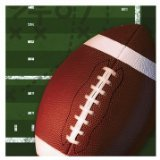 Football Birthday Party Napkins - All Pro Football Lunch Napkins - 16 Count