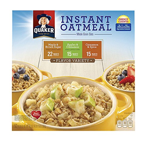 Trident Systems Quaker Instant Oatmeal Variety, 1 Pack -5...