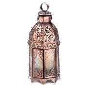 Zingz & Thingz Coppery Moroccan Lantern