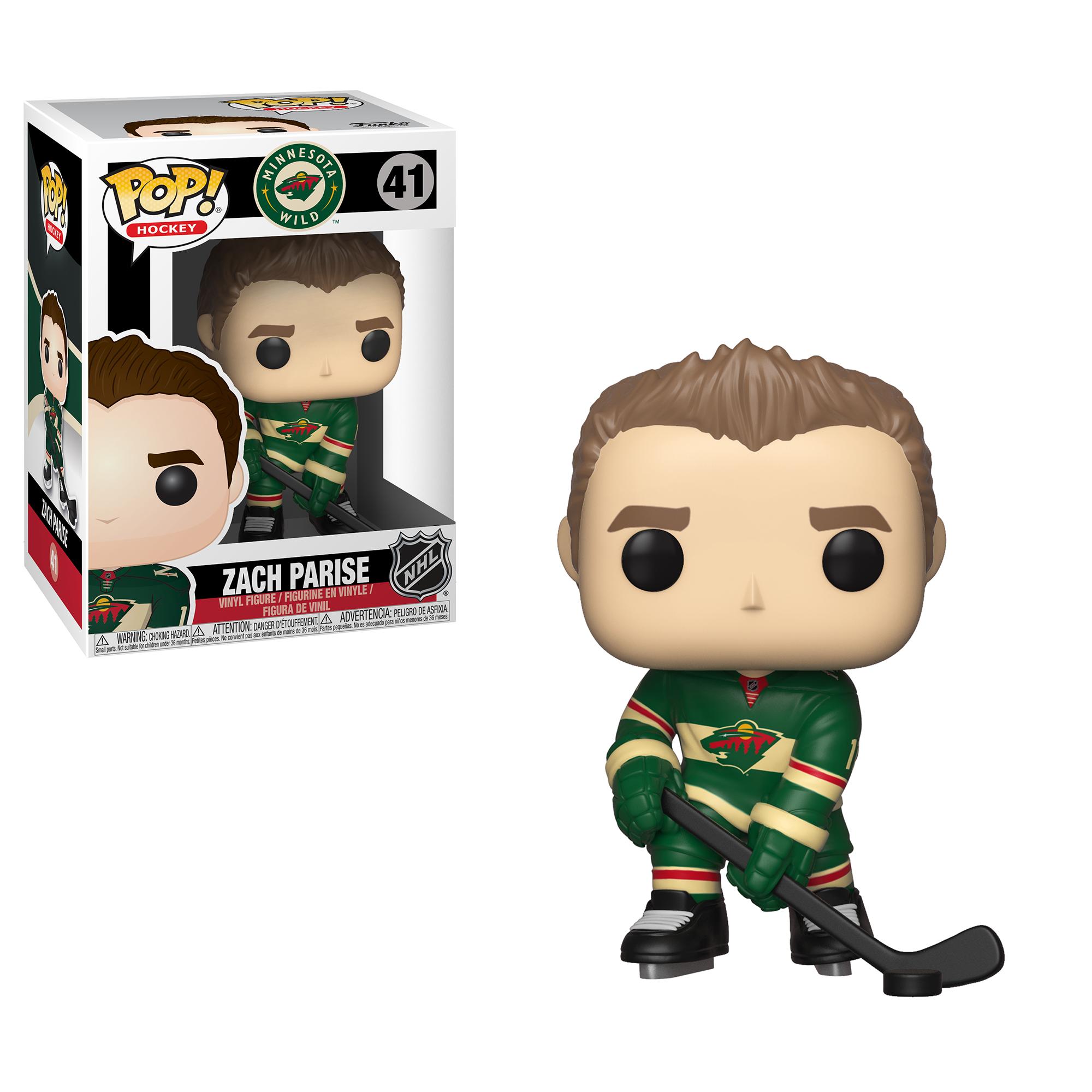 Funko POP! NHL: Wild - Zach Parise