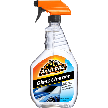 Armor All Glass Cleaner, 22 fluid ounces, Auto Glass Cleaner,