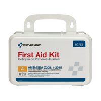 First Aid Only 71 Piece Plastic First Aid Kit, ANSI Compliant