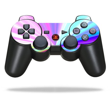 Skin Decal Wrap for Sony PlayStation 3 PS3 Controller Rainbow Zoom ()