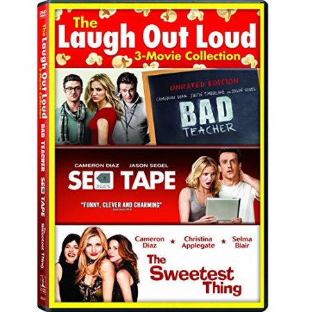 The Laugh Out Loud  3 Movie Collection   Bad Teacher  2011    Sex Tape   The Sweetest Thing  Anamorphic Widescreen