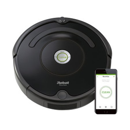 iRobot® Roomba 675 Wi-Fi Connected Vacuuming Robot Works with Alexa, Good for Pet Hair, Carpets, Hard Floors