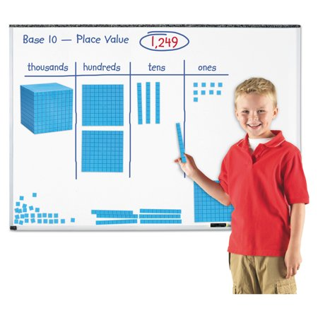 Learning Resources Giant Magnetic Base Ten Set, 6.75