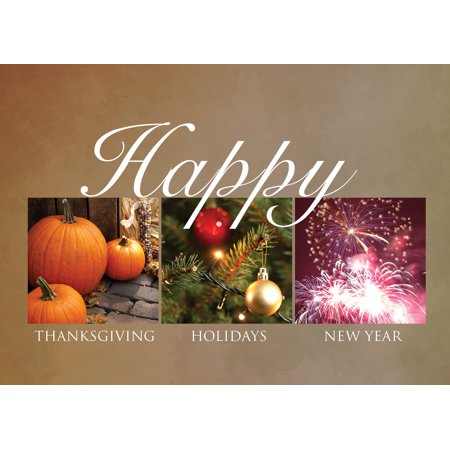 CEO Cards Thanksgiving Greeting Card Box Set of 25 Cards & 26 Envelopes - TH1508