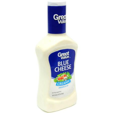 Great Value Blue Cheese Dressing & Dip, 16 oz - Walmart.com