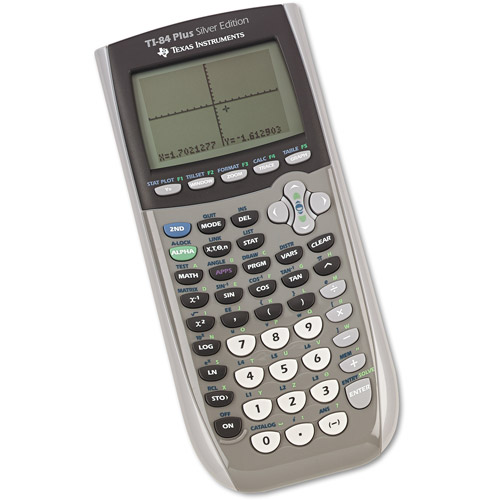 Texas Instruments TI-84 Plus Silver Edition Graphics Calculator