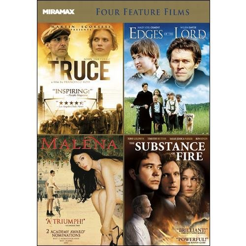 Miramax Classics: 4 Acclaimed Films, Volume 3: The Truce / Edges Of The Lord  / The Substance Of Fire / Malena (Widescreen)