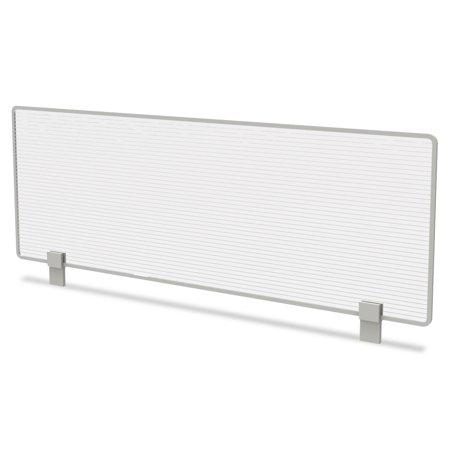 Translucent Polycarbonate Panel (Trento Line Dividing Panel, Polycarbonate, 47-1/8 X 1 3/4 X 15-1/2, Translucent )